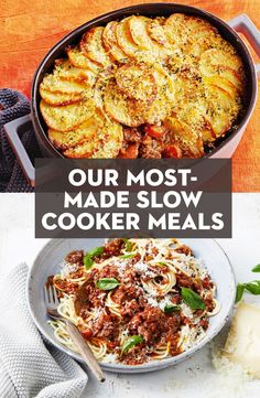 From soups to stews and even lasagne, there are so many things you can make in a slow cooker. Here are just 100 set-and-forget dinners you can't stop cooking. Slow Cooked Meals, Healthy Slow Cooker, Crock Pot Slow Cooker, Crock Pot Cooking, Slow Cooker Recipes, Crockpot Recipes, Cooking Recipes, Cooking Ideas, Savoury Recipes