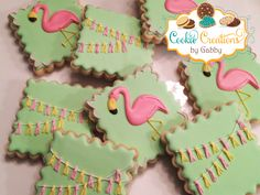 Flamingos Cookies