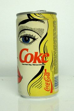 awesome vintage coke can