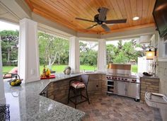Outdoor Kitchen Counters