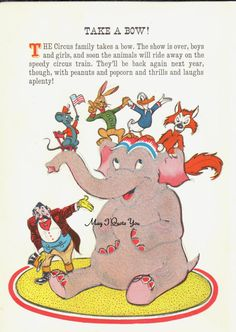 Walt Disney's Circus Elephant Fox Rabbit Duck and by MayIQuoteYou Duck Or Rabbit, Fox And Rabbit, Walt Disney, Elephant, Texture, Decorating, Handmade Gifts, Illustration, Prints