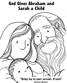 40 Awesome abraham sarah and isaac coloring pages images