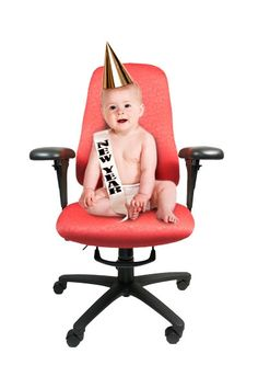 Babies are great to exaggerate the need for a proper fitting chair. Babies, Marketing, Chair, Creative, Fun, Design, Home Decor, Babys, Decoration Home