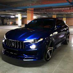 Maserati Levante by Renegade Design! Luxury Sports Cars, Top Luxury Cars, Luxury Suv, Sport Cars, Maserati Suv, Maserati Granturismo, Maserati Ghibli, Mercedes Suv, Suv Cars