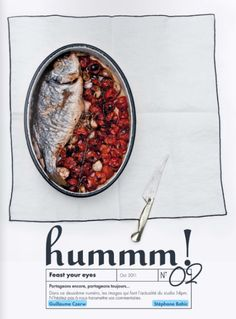 hummm! food magazine, styling and photography is created by Stéphane Bahic. #food #magazine