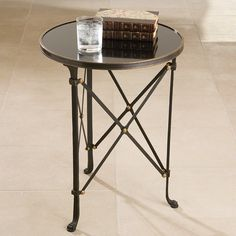 Global Views Iron Directoire Table