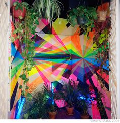 Idea for painting fence? | Maya Hayuk