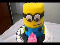 Minion bolo recortado - meu malvado favorito x264 - YouTube