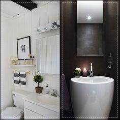 Já que os banheiros e lavabos são pequenos mesmo vou mostrar logo 20 deles aqui para vcs terem ideias magnificas para seus pequenos banheiros aí, ok ?