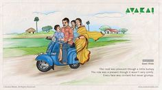 Best Ride The road was pleasant though a little bumpy The ride was a present though it wasn't very comfy. Every face was content but never grumpy. Oil Pastel Drawings, Easy Drawings, Childhood Memories Quotes, Funny Illustration, Illustrations, Bedroom Cupboard Designs, Indian Art Paintings, Cartoon Drawings, Figure Drawing