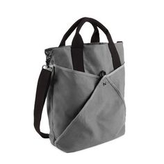 Shake Beach Tall Tote Charcoal from Quirky (www.quirky.com). Quirky has devised a genius beach bag with Shake: the stylish beach tote with a sifting mesh bottom and pockets. Just unfasten the flaps, give the bag a shake, and any intruding sand will be removed post-haste—leaving your belongings clean within. Don't fret, beach bums; Shake also features interior and exterior pockets to stash all of your summertime accessories. $90.00