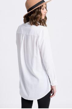 Bluzki i koszule Koszule z długim rękawem  - Medicine - Koszula City