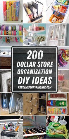 Dollar Tree Organization, Ribbon Organization, Small Bathroom Organization, Craft Organization, Organizing Tips, Bathroom Hacks, Bathroom Storage, Cleaning Tips, Astuces Dollar Store