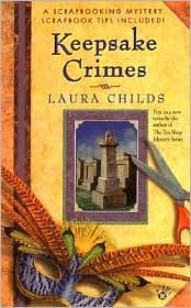 First in a mystery series set in and around a New Orleans scrapbooking shop by Laura Childs