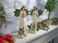 Love these Angels - Valerie Parr Hill - QVC {I gave these as gifts & they were raved about and loved!}
