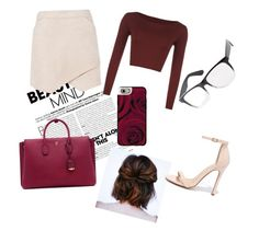 """""""#2"""" by alejandracarlon on Polyvore featuring BCBGMAXAZRIA, MCM, WearAll, Charlotte Russe, Casetify y Liliana"""