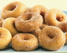 Mini Donuts by Schwan's Price: $8.98 Reminiscent of a state fair classic. We now bring delicious mini donuts to the comfort of your home all year round! The included cinnamon-sugar packet allows you to shake up your donuts in that sweet sugary topping for hot, fresh mini donuts anytime. Simply microwave in under 1 minute and coat with cinnamon-sugar. Perfect for snacks, dessert or even breakfast!
