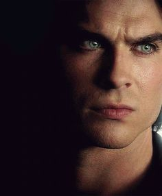 Damon is so beautifully tortured. Look at those aqua eyes... melting