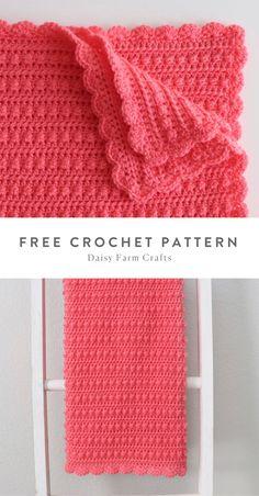 Free Pattern - Crochet Sweet Berries Baby Blanket