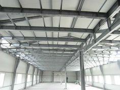 Zdjęcie sufitu i pokaz wzmocnień i rodzaju stabilizatorów.