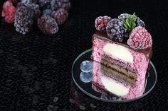 Schokoladen-Beeren-Törtchen