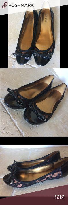 Guess Black Flats Size 6.5 NWOT Guess Black Flats Size 6.5 NWOT Guess Shoes Flats & Loafers