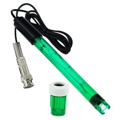 GX-E1 Single Cylinder pH Electrode + Long Cable + BNC Type Plug + 2 Buffer Solutions