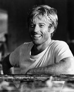 A handsome young Robert Redford. ] A handsome young Robert Redford