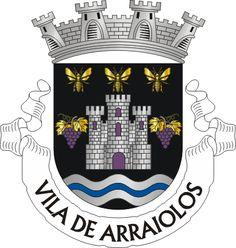 Municipality of Arraiolos, Évora, Portugal (Area Km²) Ex Libris, Emblem, Coat Of Arms, Symbols, Badges, Stamps, Flags, Castle, Gold