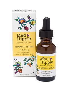 Award-Winning All Natural Vitamin C Serum with Ferulic & Hyaluronic Acid. Reduce the appearance of wrinkles, sun damage and discoloration with this natural Vitamin C Serum.