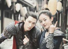 Shawn Dou (Yan Xun) and Zhao Yi Ling (Chu Qiao) from Princess Agents Samurai, Princess Agents, Zhao Li Ying, Chinese Clothing, Korean Star, Drama Movies, Chinese Style, Sailor Moon, Actors & Actresses