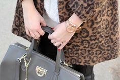 Fashion and style: Leopard coat ...