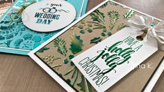 Today, learn how to use the Deco Foil Transfer Gel five ways to create beautiful shiny and sparkling backdrops for your foiled or stamped card projects! Supp...