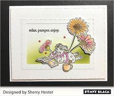 Penny Black Cards, Penny Black Stamps, Dog Cards, Stamping, Blog, Design, Stamps, Blogging