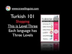 Turkish 101 - Shopping - Level Two - YouTube