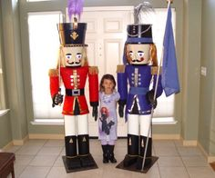 Building a life-size Nutcracker may not be the least expensive holiday decoration you make for  next Christmas, but it could well be the most fun and unique....