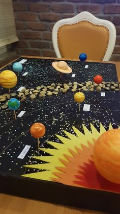 50 Marvelous DIY Solar System Crafts, Activities and Decorations with an 'Oomph' Factor Solar System Projects For Kids, Solar System Model, Solar System Crafts, Space Projects, Science Projects, School Projects, Solar System Science Project, Space Crafts For Kids, Diy For Kids