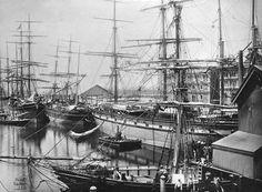 Adelaïde docks, Aust