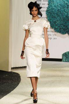 Ulyana Sergeenko - Pasarela Pasarela Primavera/Verano 2013 Haute Couture