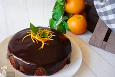 Tarta de naranja con chocolate | La receta más fácil de todas