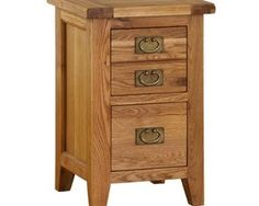 Vancouver Oak VXB001 Two Drawer Bedside Cabinet RRP: £230.99 | Now £145.00 – Save: 37% http://tidd.ly/6c7319f3