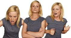 From In Character: Actors Acting by photographer Howard Schatz.  The ever talented Amy Poehler.