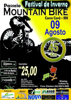 BLOG DJ AILDO: Passeio de Mountain Bike no XIII Festival de Inver...