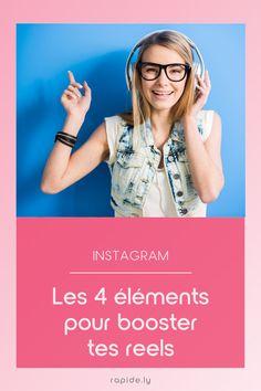 """Comment fonctionne l'algorithme des """"reels"""" sur Instagram Inbound Marketing, Entrepreneur, Social Media Marketing, Content Marketing, Stuff Stuff, Tips, Organization"""