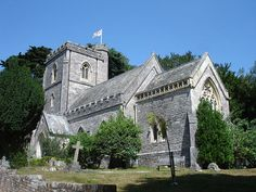 st mary's church, brownsea island, dorset