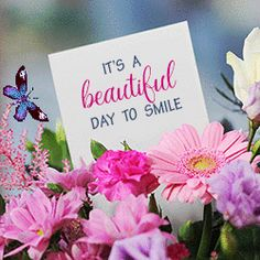Hello Kisses, Smile Gif, Good Morning Gif, Morning Quotes, Beautiful Day, First Love, Blessed, Place Card Holders, Mornings