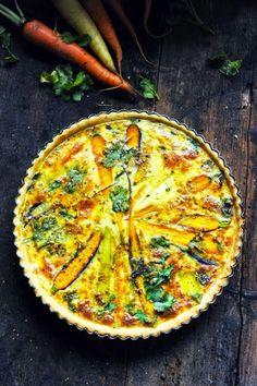 Le vendredi c'est retour vers le futur… Tarte aux carottes multicolores parce que j'veux du soleil bordel !