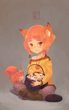 Foxy by Mireys.deviantart.com on @deviantART - renards craquants