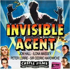Fantasy Movies, Sci Fi Movies, Home Movie Projector, Peter Lorre, Movie Reels, 8mm Film, Sci Fi Tv Shows, Invisible Man, Love You