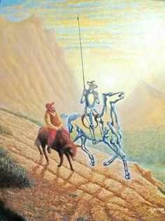 El Quijote en imágenes comentadas | Plasmaciones y representaciones visuales del universo quijotesco. Elaborado por alumnos de 1.º bach. del INS Ramon Coll i Rodés (Lloret de Mar) | Pàgina 3